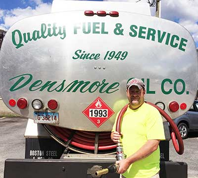 Densmore Oil, quality fuel and service for Eastern CT homeowners